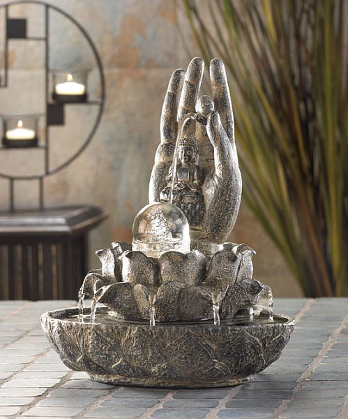 Peaceful Blessings Tabletop Fountain