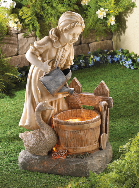 Enchanting Garden Fountain