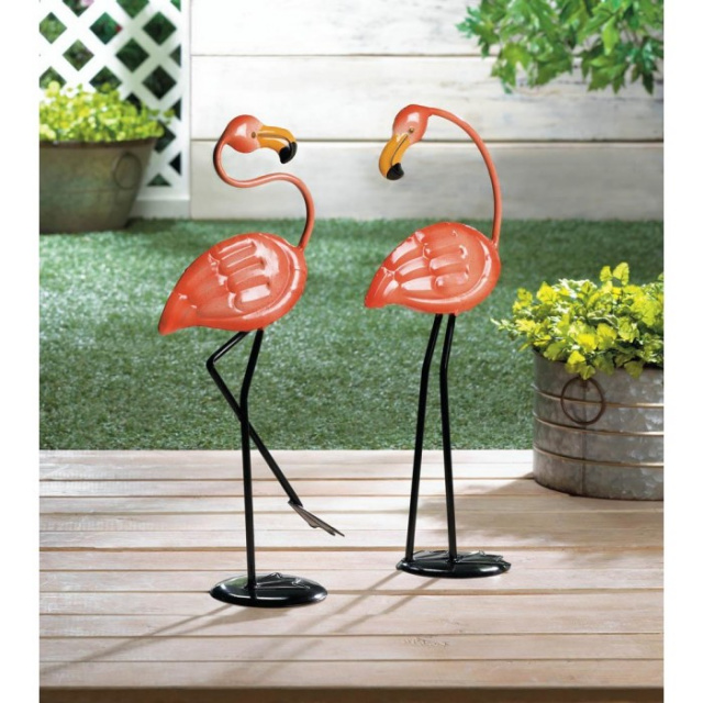 Flamingo Garden Decor 	Small