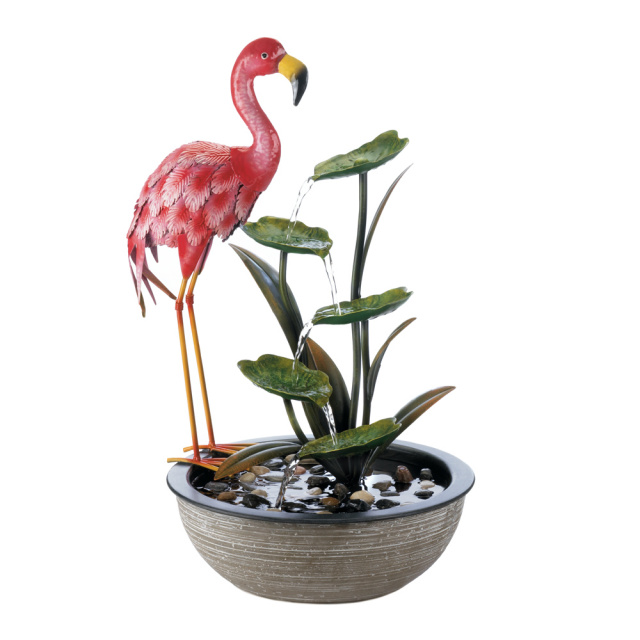 Coming Soon! Pre-order now! Whimsical Flamingo Fountain