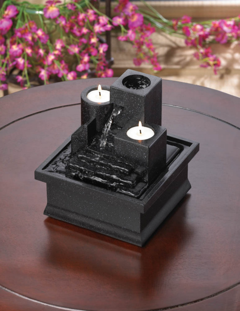 Tabletop Candle Fountain