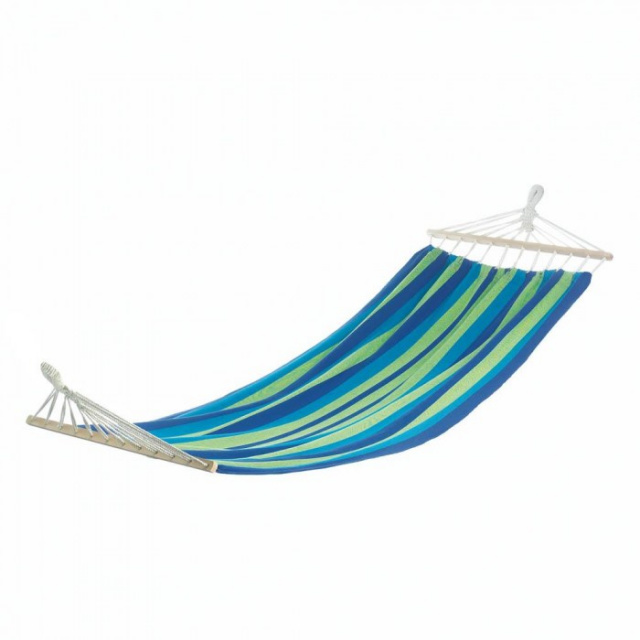 Blue Stripe Single Hammock