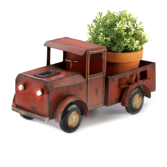 Truck Solar Light Planter