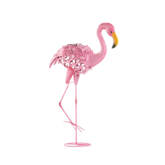 Beautiful Light Up Flamingo Garden Accent