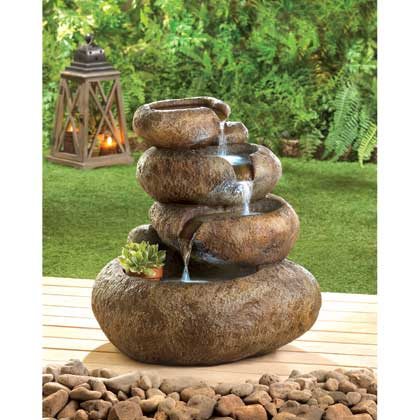 Soothing Rock Fountain