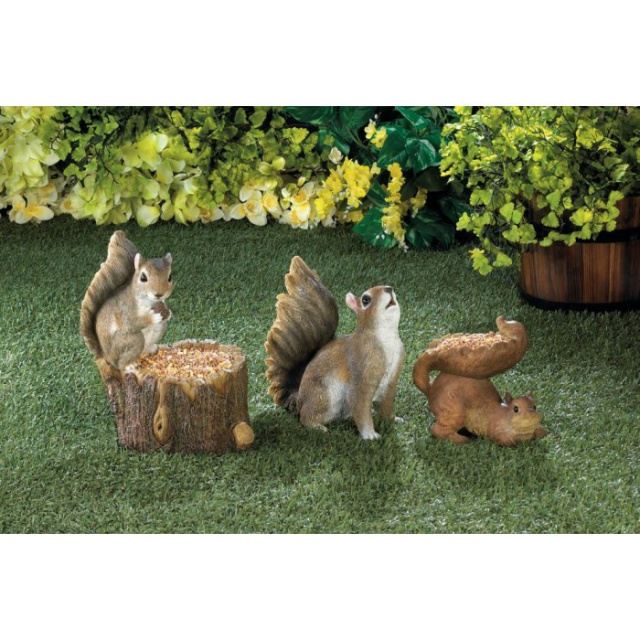 Cute Squirrel Bird Feeder