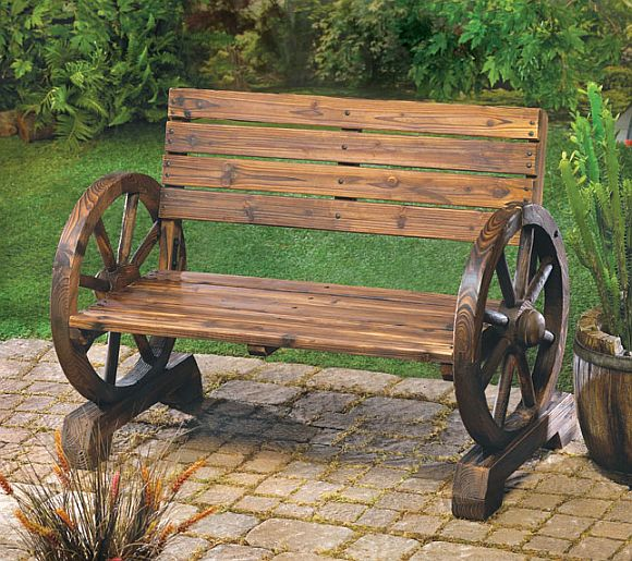 Stagecoach Style Bench
