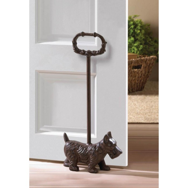 Cute Doggy Door Stopper with Handle